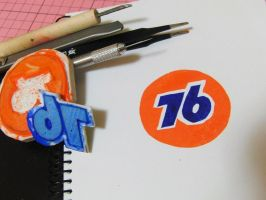 76 ball rubber stamp by J4n3T
