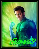 Ryan Reynolds Green Lantern by jasonpal