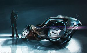 Motorcycle Concept by Apostolon-IAM