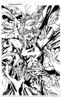 Miss Marvel 26 Pg 01 Inks by Mariah-Benes