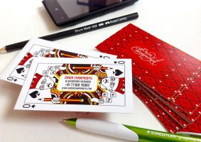My business card design by orioncreatives