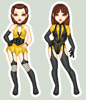 Silk Spectre I and II by padfootb3