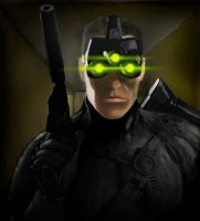 Sam Fisher by JACKIEpainting
