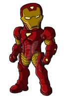 Chibi Modern Iron Man by GuyverC