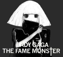 Lady Gaga - The Fame Monster by BlackFantasia
