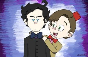 Wholock: Bow Ties are Cool! by drefeno
