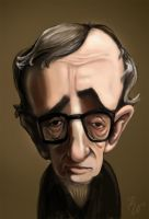 Woody Allen by Rafaelmox