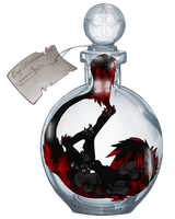Kaala in a bottle by Korclabael