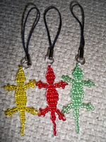 Lizard Phone Charms by Kat2805