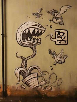 Graffiti Bologna by Groucho91