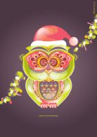 Merry Christmas.xoxo.Papa Nowl by bells31ita