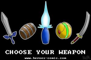 Choose Your Weapon by robertllynch