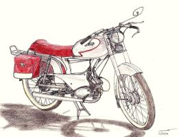 1305 - 10-09 - 1961 Peugeot BB3 SP by TwistedMethodDan