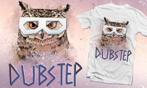 Dubstep Owl by PeterPan-Syndrome