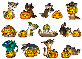 Furry Unlocked Badges by WindWo1f