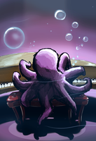 Octopianist by Pencilly