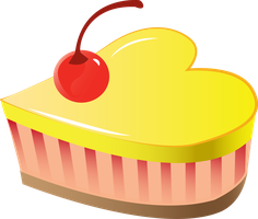 Cake logo Vector [ Commission ] by Sparxyz