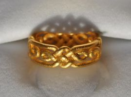 Celtic Knot Twist Ring by dfoley75