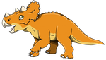 The Land Before Time: Cera by Emperor-Zinyak