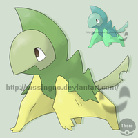 Fakemon Frondactl by mssingno
