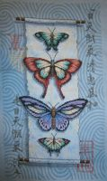 Butterfly Scroll by LeeLeeG2