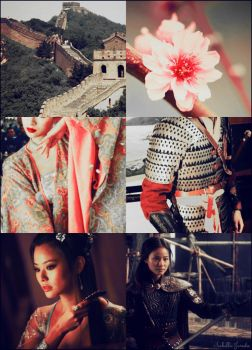 Fa Mulan of China  by Childoftheflower