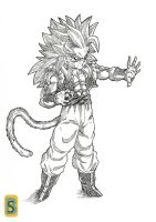 Gotenkshan Ascended SSJ4 by bloodsplach