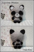 Raccoon Plushie by littlepaperforest