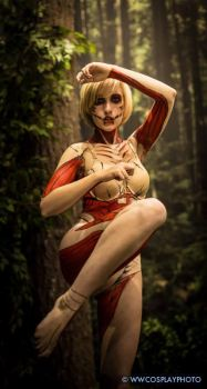 AX2014 SNK Female Titan by broken-with-roses
