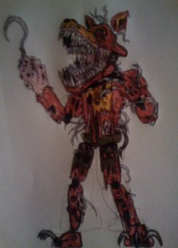 Twisted Foxy by FreddleFrooby
