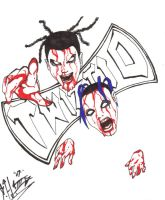 twiztid axe by bigbabyretard