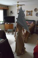 Female Pyramid Head cosplay by Dawnbringer747