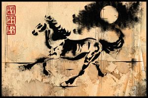 Hokusai's Horse by art176
