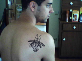 Lucario Tattoo by MikeGTS