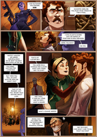 Monsieur Charlatan Page 172 by DrSlug