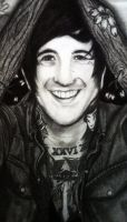 Austin Carlile-In Cherry Bloom closeup by I-Draw-Bands