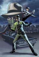 Green Hornet color by stevebryant