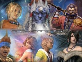 Final Fantasy X Wallpaper by Final-Fantasy-X-Club