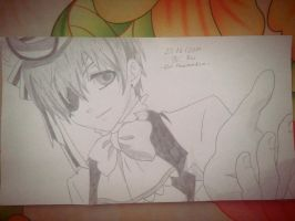 Ciel Phantomhive ( Kuroshitsuji ) Drawing p2 by raeinspirit7