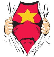Superhero T-shirt by BangBangTshirts