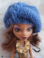 Cables beret for Monster high by kivrin82