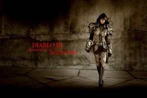 Diablo III: Demon Hunter by Poodoki