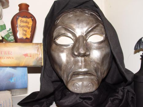 Snape Death Eater Mask by Dixiebell12