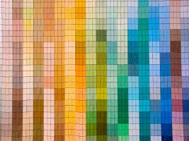 Color Swatch Wall by Retoucher07030