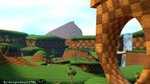 Green Hill Zone. by KnightGhost1986