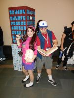 Mabel and Dipper AB 2015 by Dragonrider1227