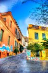 HDR at Plaka Athens by Piddling