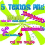 Pack de textos png by LovesickEditions