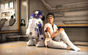 Chilling with Artoo by storypilot