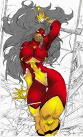 spider woman, reference colors by JustArt27